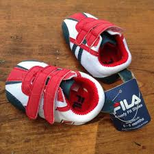 fila infant shoes. *nwt* fila infant shoes (0-6) fila i