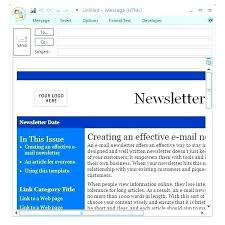 Outlook Mac Email Template Make An Outlook Email Template Creating Email Templates In