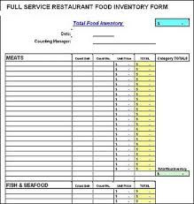 29 Images Of Food Inventory Sheet Template Leseriail Com