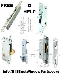 andersen patio door lock repair replace patio door locks sliding door lock mechanism replacement