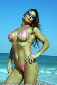 Beach Model Big Titty Milf Thong Big Tittie MILF Porn Picture.