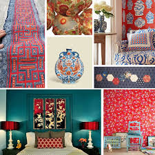 red white blue mood this bedroom decor