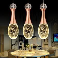 Licht Kreative Parfüm Flasche K9 Crystal Led Kronleuchter