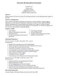 Download Secretary Resume Examples
