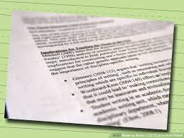 What To Write On A Cv How To Write A Cv Or Curriculum Vitae With Free Sample Cv