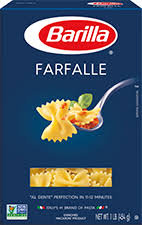 blue box farfalle