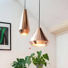 nordic modern designer rose gold glass pendant light hanging lamp for hall loft decoration room kitchen dining room living room red pendant lighting low