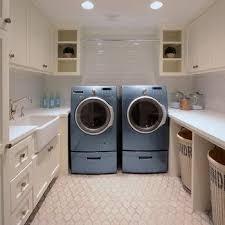 laundry room office. U Shaped Laundry Room Office