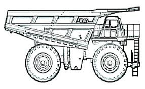Bulldozer Monster Truck Coloring Pages Littapescom