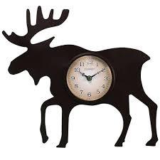 chaney wall clock moose clock moose clock chaney instruments wall clocks