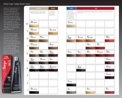 Wella Color Charm Chart Sally S Wella Color Tango Shade Chart In 2019 Wella Color Charm