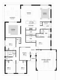 4 bedroom house plans south australia beautiful single story bedroom house plan best four plans home