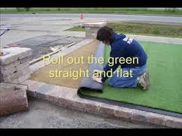outdoor putting green kits. Synthetic Putting Green Installation Outdoor Kits A