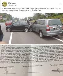 One Of The Witness For The Road Rage Incident Police Report