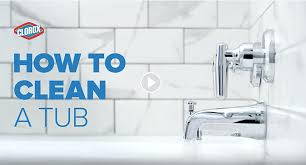 how to clean a bathtub shower whiten stains naturally tub how to clean bathtub