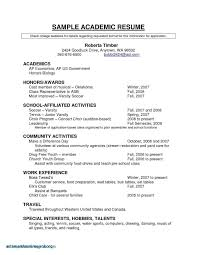 Sample Canadian Resume Format Canadian Resume Samples Valid Unique Resume For Highschool Students 46