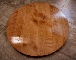 round table top. Round Table Top - Solid Black Cherry Wood // Breakfast, Cafe, Coffee,