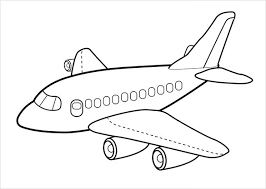 Small Picture 21 Airplane Coloring Pages Free Word PDF JPEG PNG Format
