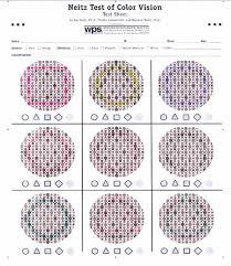 Neitz Test Of Colour Vision Download Scientific Diagram