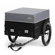 blue new 130l bike cargo trailer <b>bicycle trailer hand</b> wagon luggage ...
