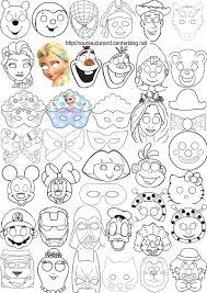 Masques Imprimer Pour Les Enfants Diy Carnaval Pinterest