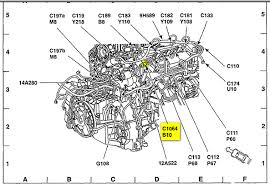 ford escape radiator fan cylinder instrument overheating ok the most common cause of cooling fan always running and a false hot reading on temp gage is a fault ect engine coolant temperature sensor