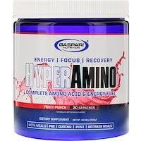 Gaspari Nutrition, <b>HYPERAMINO</b>, <b>Complete Amino Acid</b> & Energy ...