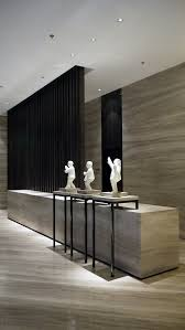 office reception interior. marble lobby area interior design inspiration love the detail of built in stands and wood room divider office reception y