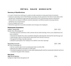 Sales Associate Qualifications Retail Duties And Responsibilities For Resume Yuriewalter Me