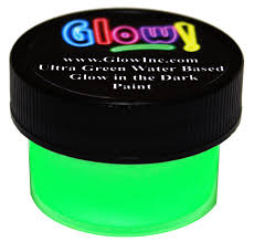 v10 glow in the dark paint ultra green 1 x 20 oz