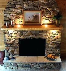 rustic fireplace traditional