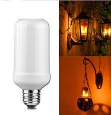 Bolcom Light Led Flame Light Lichtbron E27 3w Vlam Effect