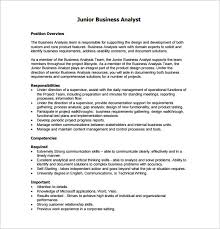 Business Analyst Job Description Template - 10+ Free Word, Pdf ...