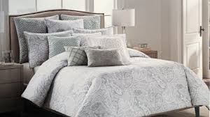 tahari bedding 3 piece queen duvet cover in paisley pattern for bedroom decoration ideas