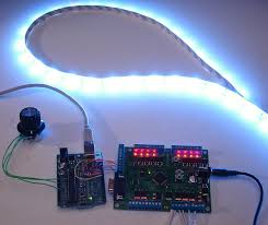 control ikea dioder led strip with arduino 16x pwm led fader board 6 steps with pictures