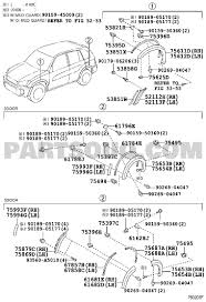 Toyota Rav4 Parts Diagram 2002 Toyota Rav4 Parts • Free Wiring ...