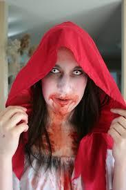 makeup tutorial video by robert jones you little dead riding hood middot red riding hood zombie