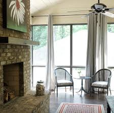 screened in porch with fireplace. Screened In Porch With Fireplace Transitional None