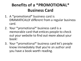 31 Book Marketing Ideas Your Business Card