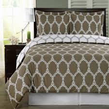 brooksfield 100 extra soft cotton reversible duvet cover set twin full queen king sizes com