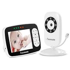 Anmade <b>Video Baby</b> Monitor <b>3.5inch Baby</b> Monitor with Night Vision ...
