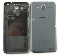 Alcatel Idol S battery cover grey