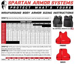 Process For Selecting The Right Size Wraparound Armor Vest