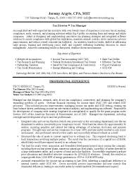 90 Tax Accountant Resume 100 Sample Resume Public