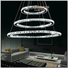 impressive circle chandelier light aliexpress modern led crystal ring chandelier light
