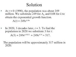 exponential growth and decay word problems with solutions math exponential growth decay math worksheets center growth