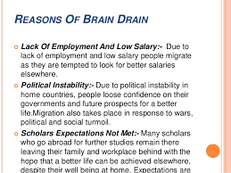 brain drain expectations are 10 consequences of brain drain