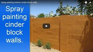 painting block wallPainting concrete block walls in Phoenix AZ