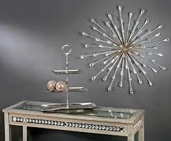 splendid metal wall art daccor sculpture mirror sculpture wall decor starburst wall art yilw on wall jpg