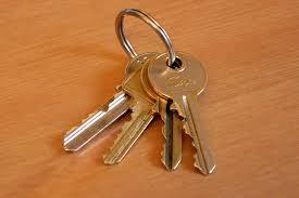 house key. Modren Key Duplicate House Key With A Photo Taken By Smartphone Inside House Key L